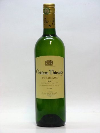 Chateau Theieuley Blanc AOC 2010
