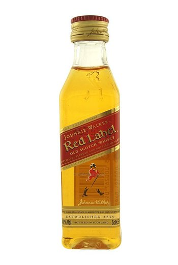 Johnnie Walker red 0,05l
