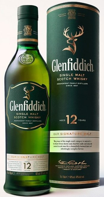 Glenfiddich 12let 0,7l