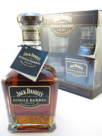 Jack Daniel`s Single Barrel + sklo 0,7l