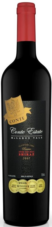 Conte Estate Shiraz Reserve 2007